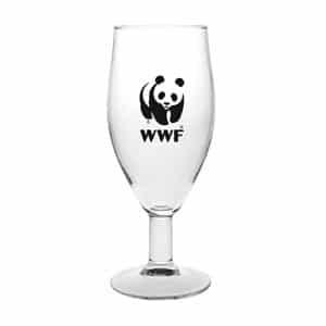 הדפסה על כוס בירה עם רגל