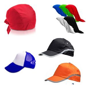 הדפסה על כובעים ובנדנות