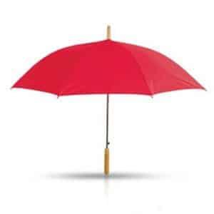 מטרייה עם מוט עץ 25 אינץ'