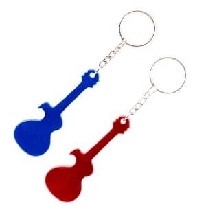 מחזיק מפתחות ממתכת- גיטרה